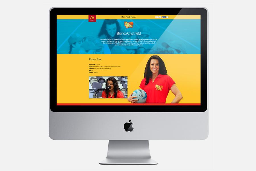Desktop Ambassador Page - Bianca