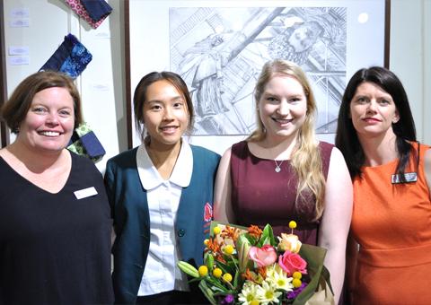 Jo Herrmann, Vanessa Li, Tiia Verduci and Jo Knight.