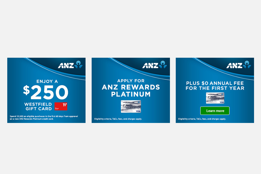 Mrec banners - Platinum Credit Card