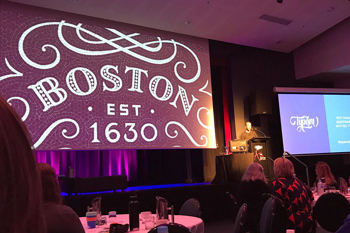 Nick Misani spoke about how his faux mosaic design work has actually come full circle and resulted in commissions to design physical mosaics – I still can't believe that the fauxaics like this Boston one were all digitally edited by hand!