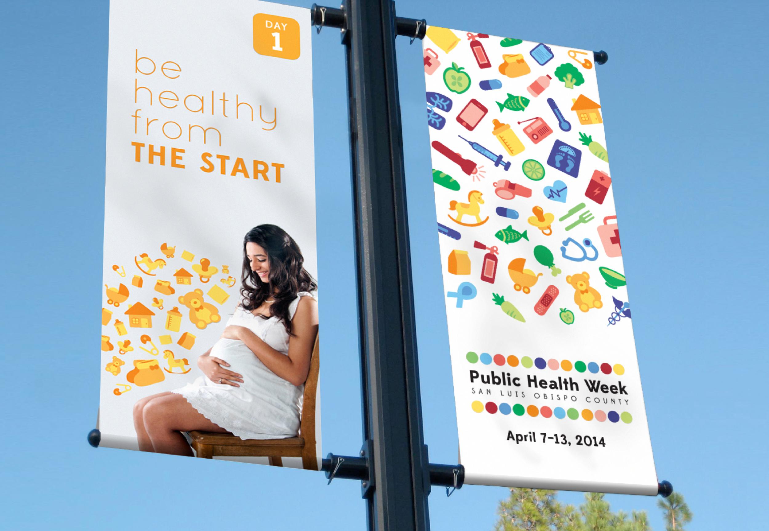 Public Health Week Banner