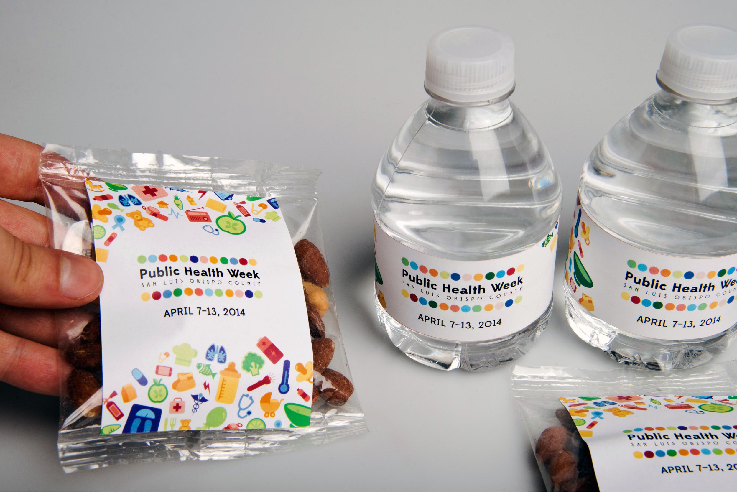 Public Health Week Packaging