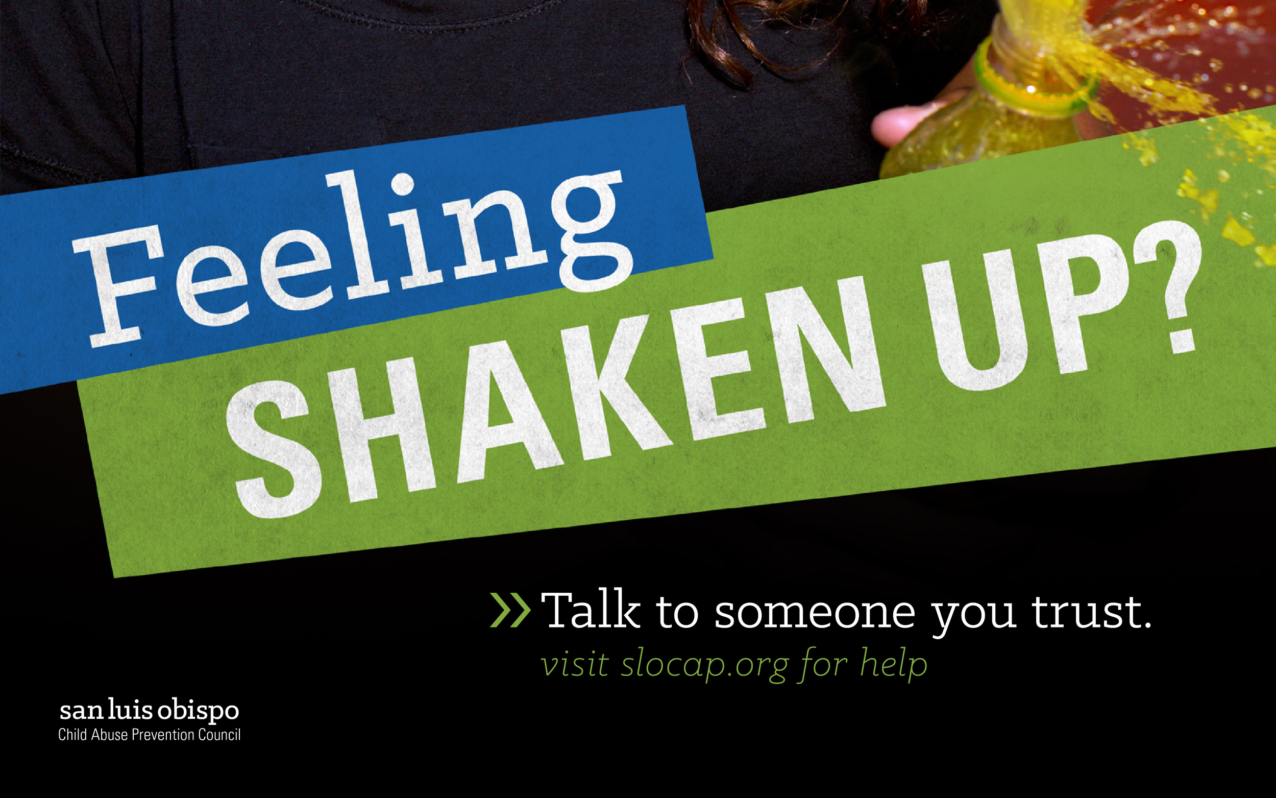 Feeling Shaken Up Poster Detail