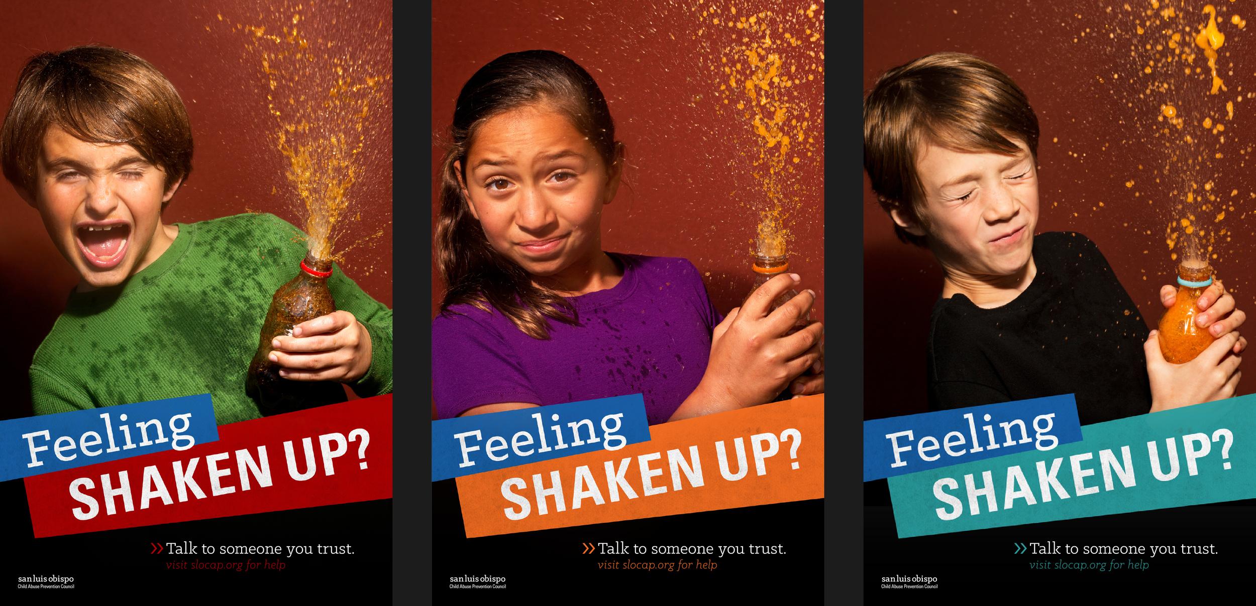 Feeling Shaken Up Posters