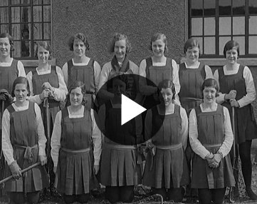 British Pathé reel of Ireland V Wales, Ladies International match, Dublin 1931