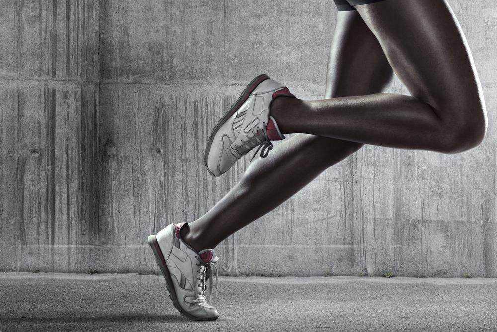 Person running still