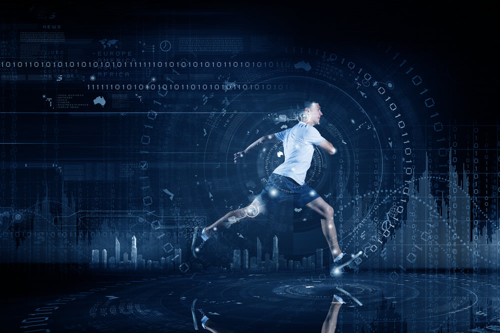 Man running with a technology overlay.jpg