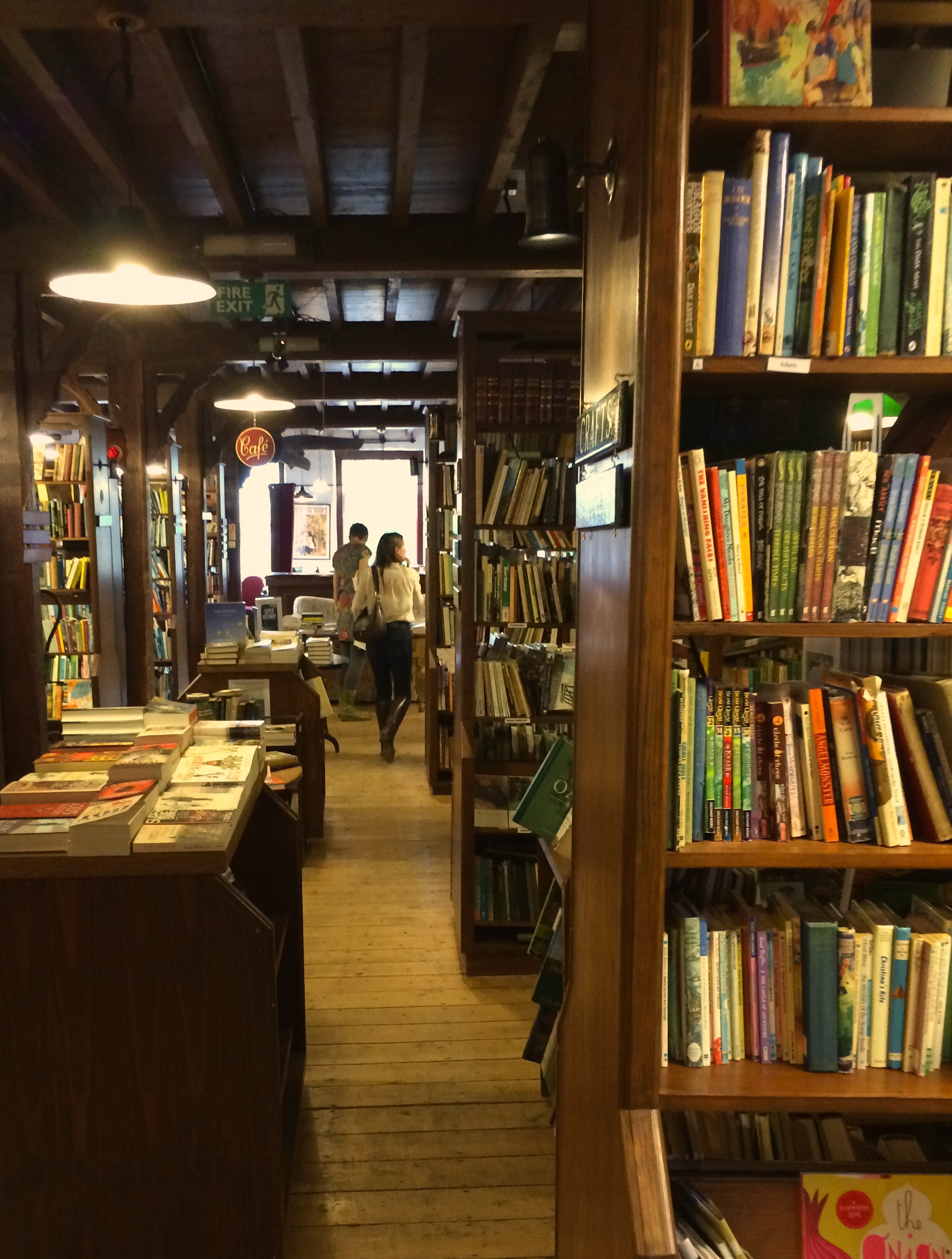 Browsing Booths book shop