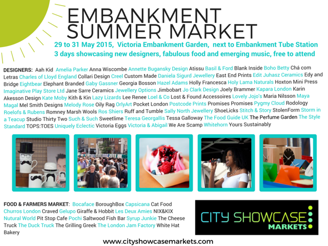 Embankment Summer Market