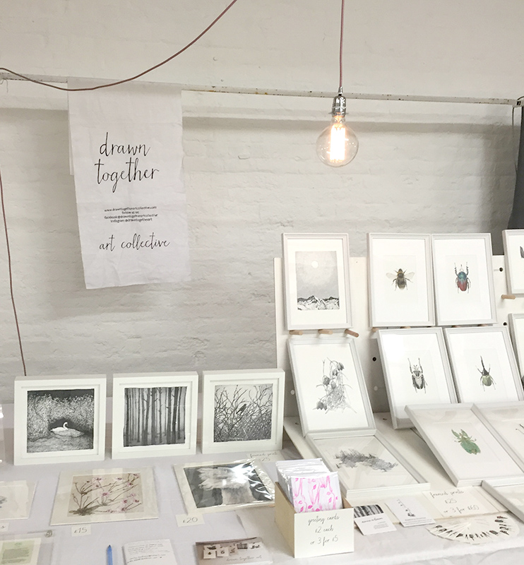 Drawn Together Art Collective  at  London Artisan