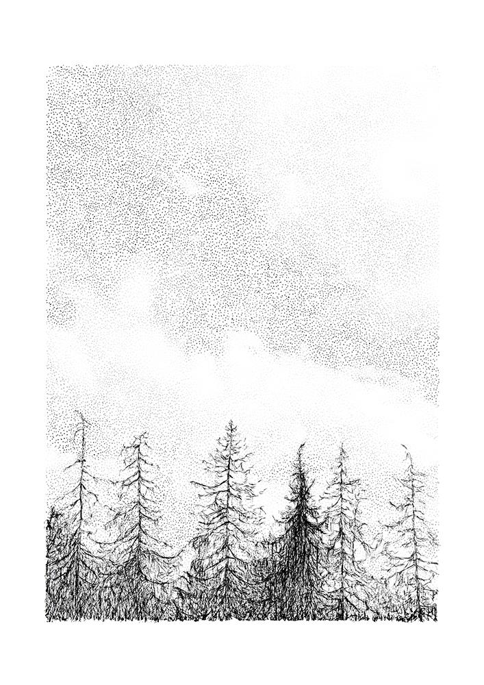 Tree Line by Maria Nilsson