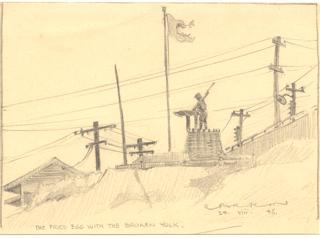 Japanese POW mining camp at Ohama on the main island 1945