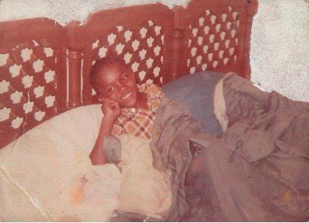 Anthony Hamilton as a young boy