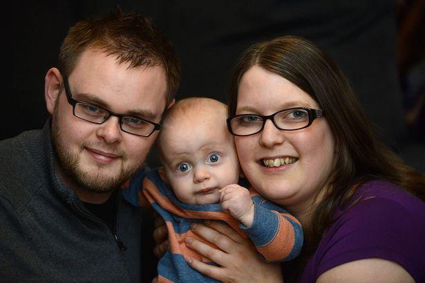 Ian, Eddie and mum Jo