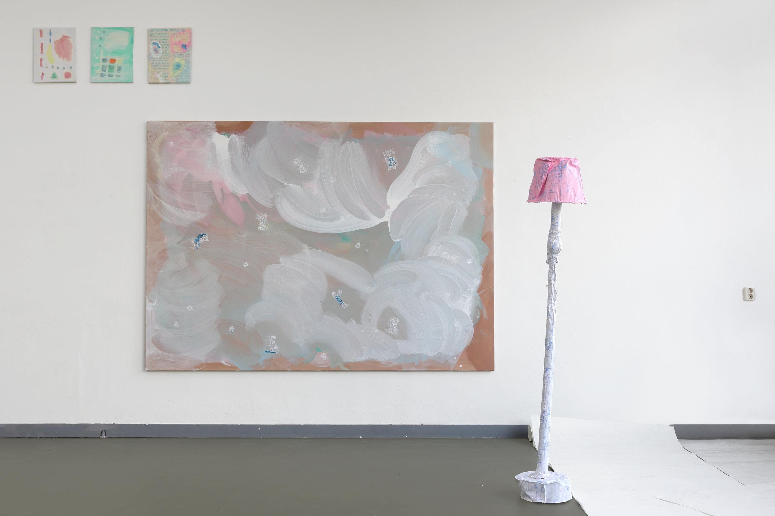 Installation view in progress, Mixed media, Van Eyck Maastricht, 2018