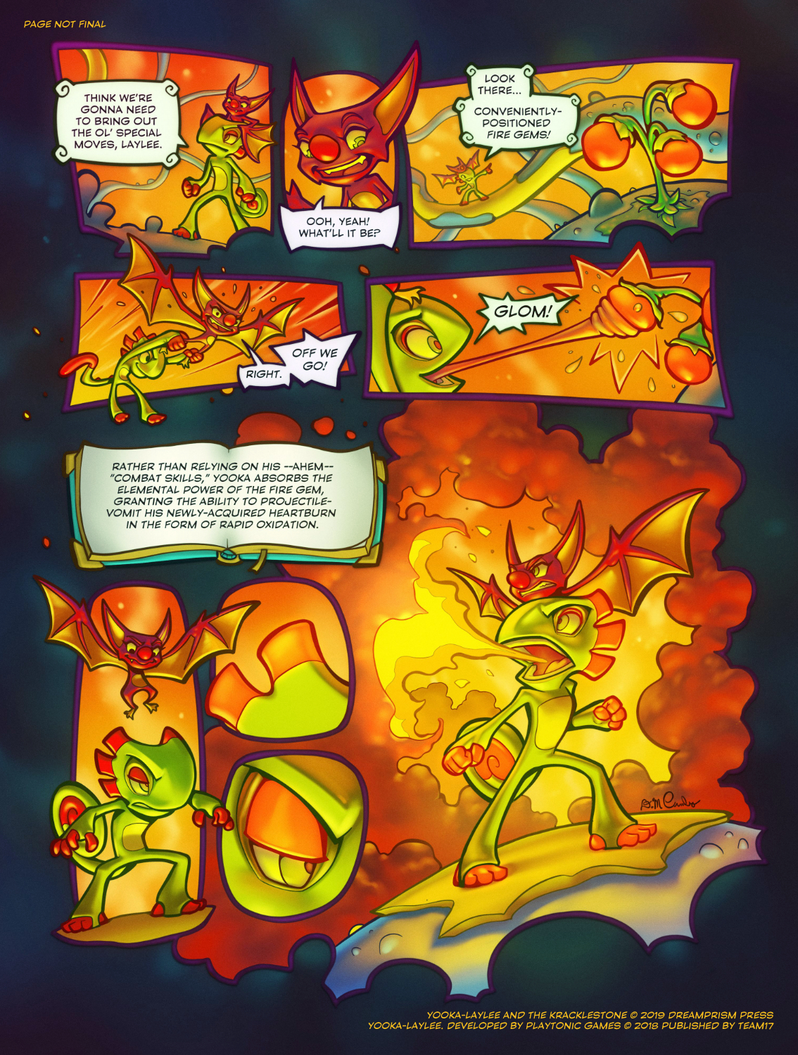 Yooka-Laylee and the Kracklestone Dreamprism Press 6.jpg