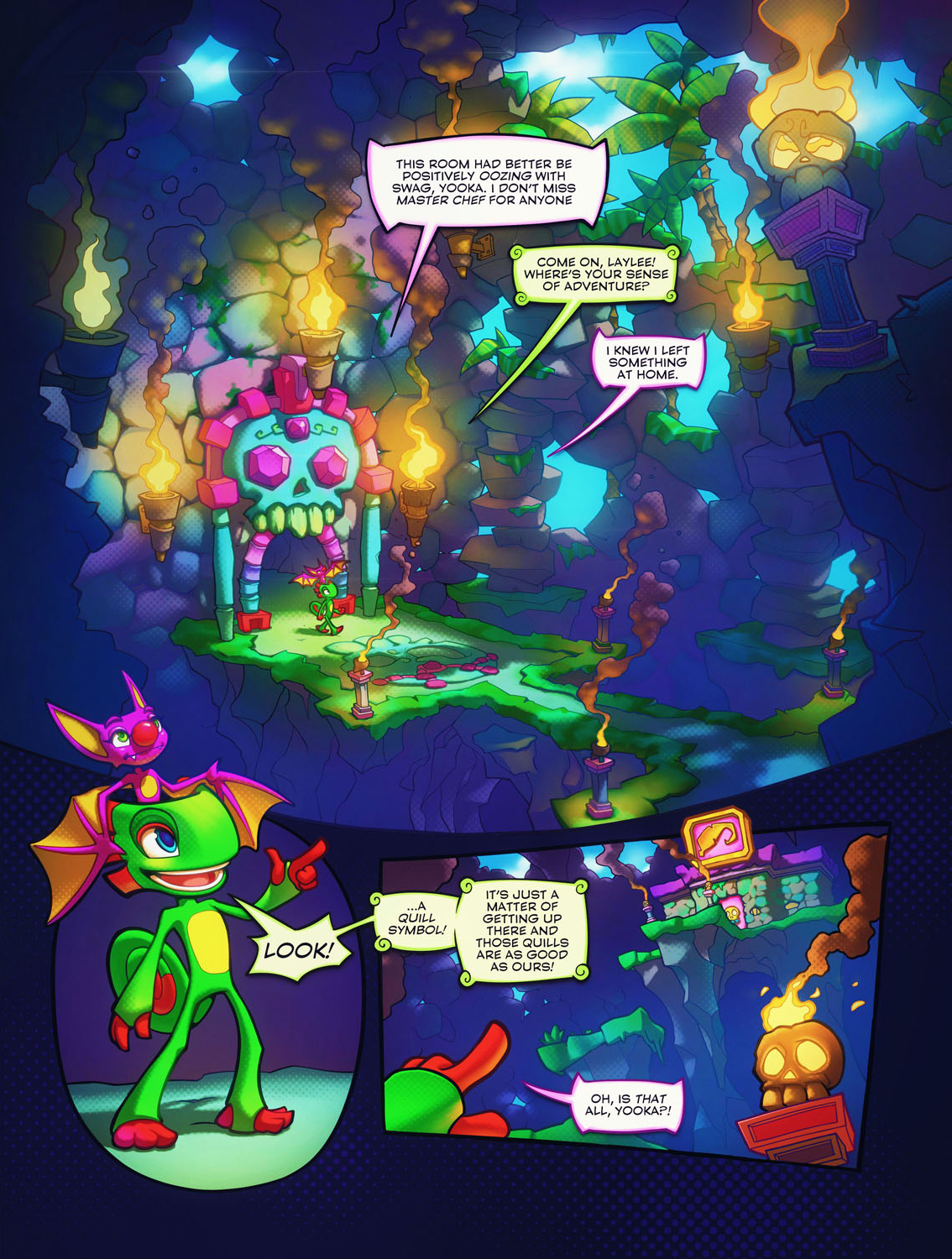 Yooka-Laylee and the Kracklestone Dreamprism Press 1.jpg