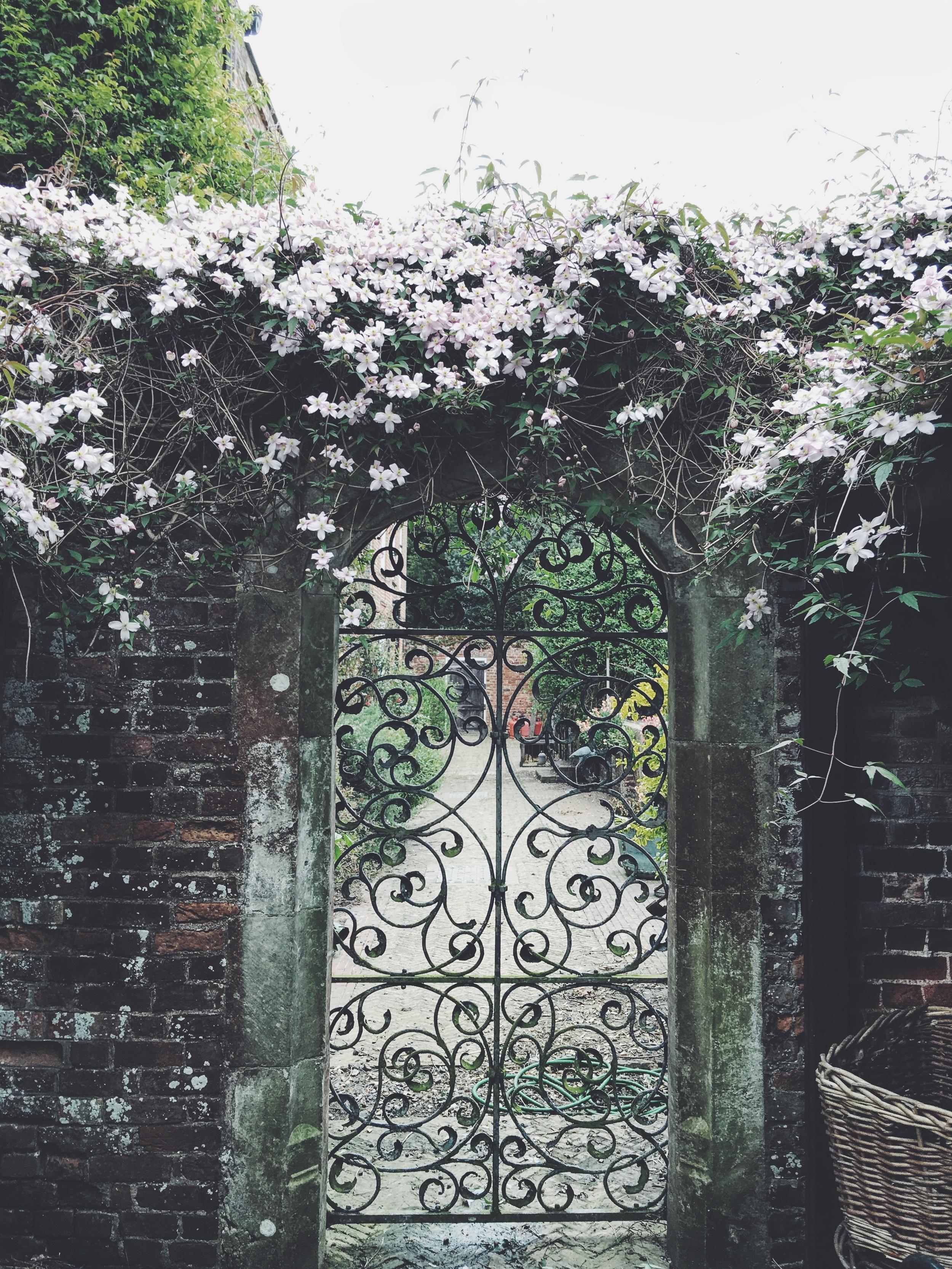 The beautiful gardens