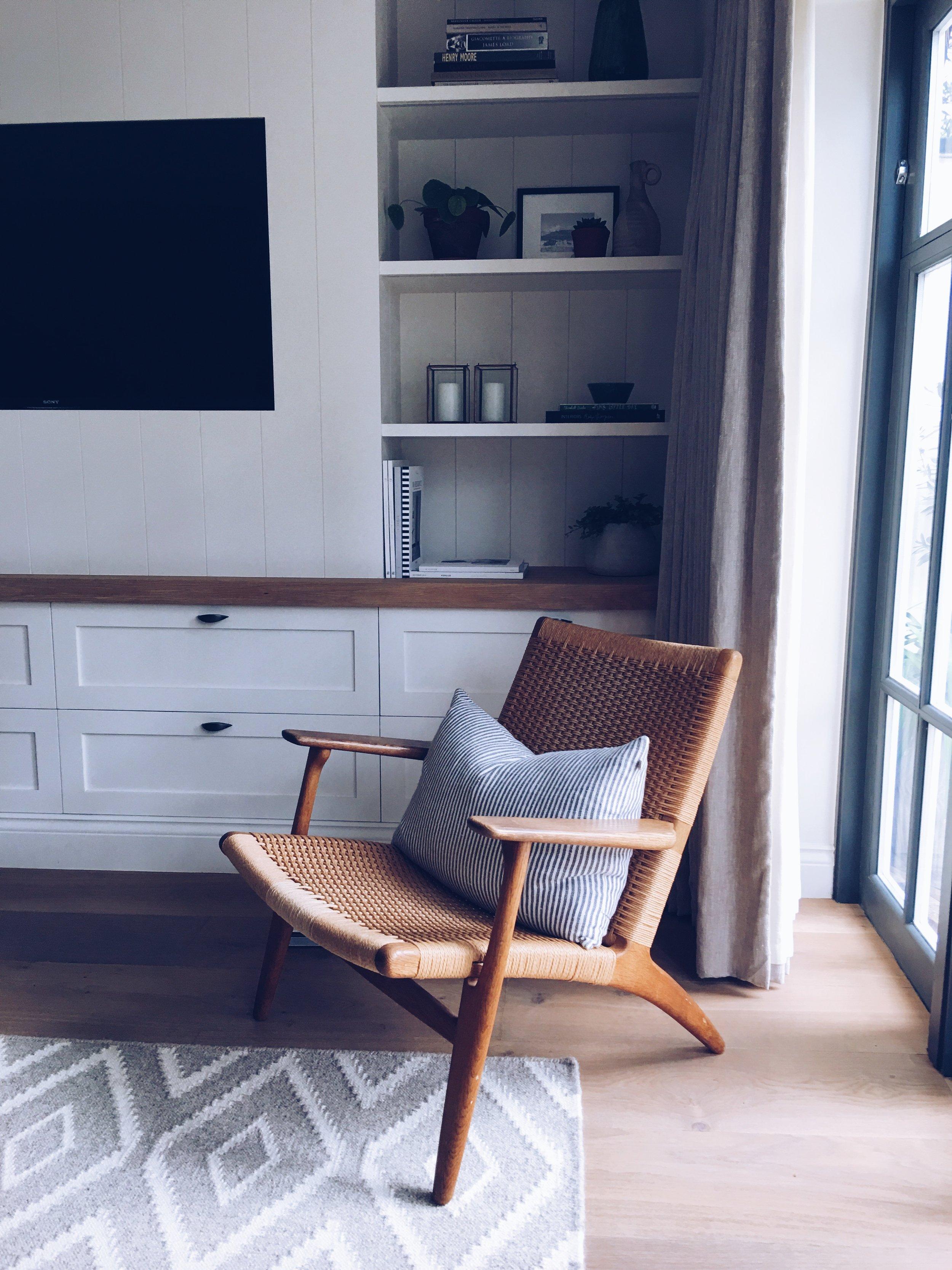 Corner of TV Room