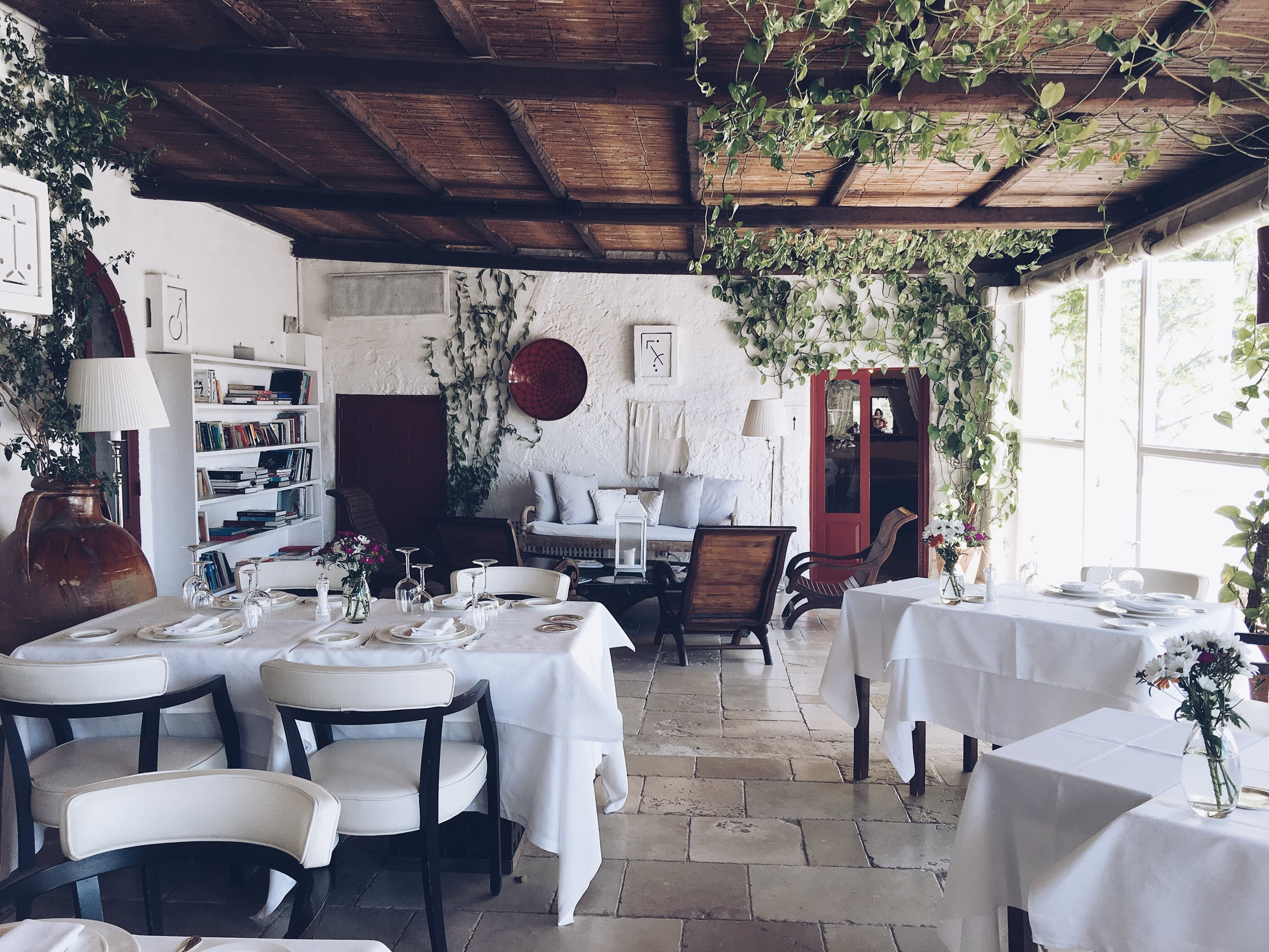 Lunch at  Masseria Torre Coccaro