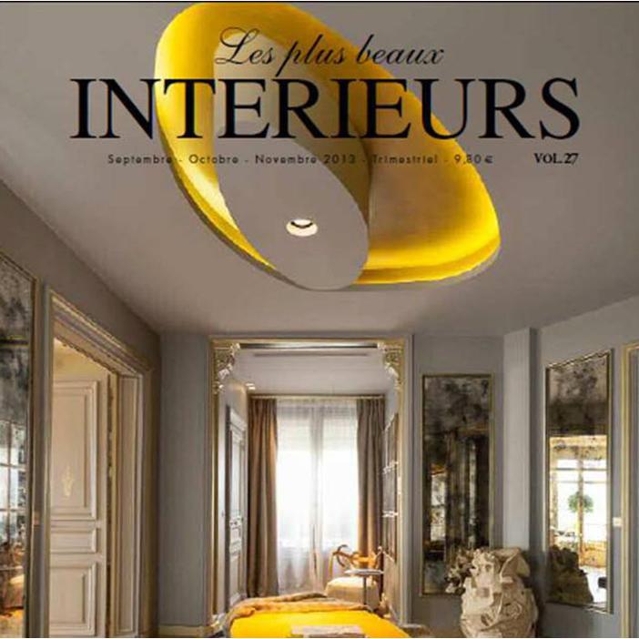 les Plus Beaux Intérieurs, September-October 2013