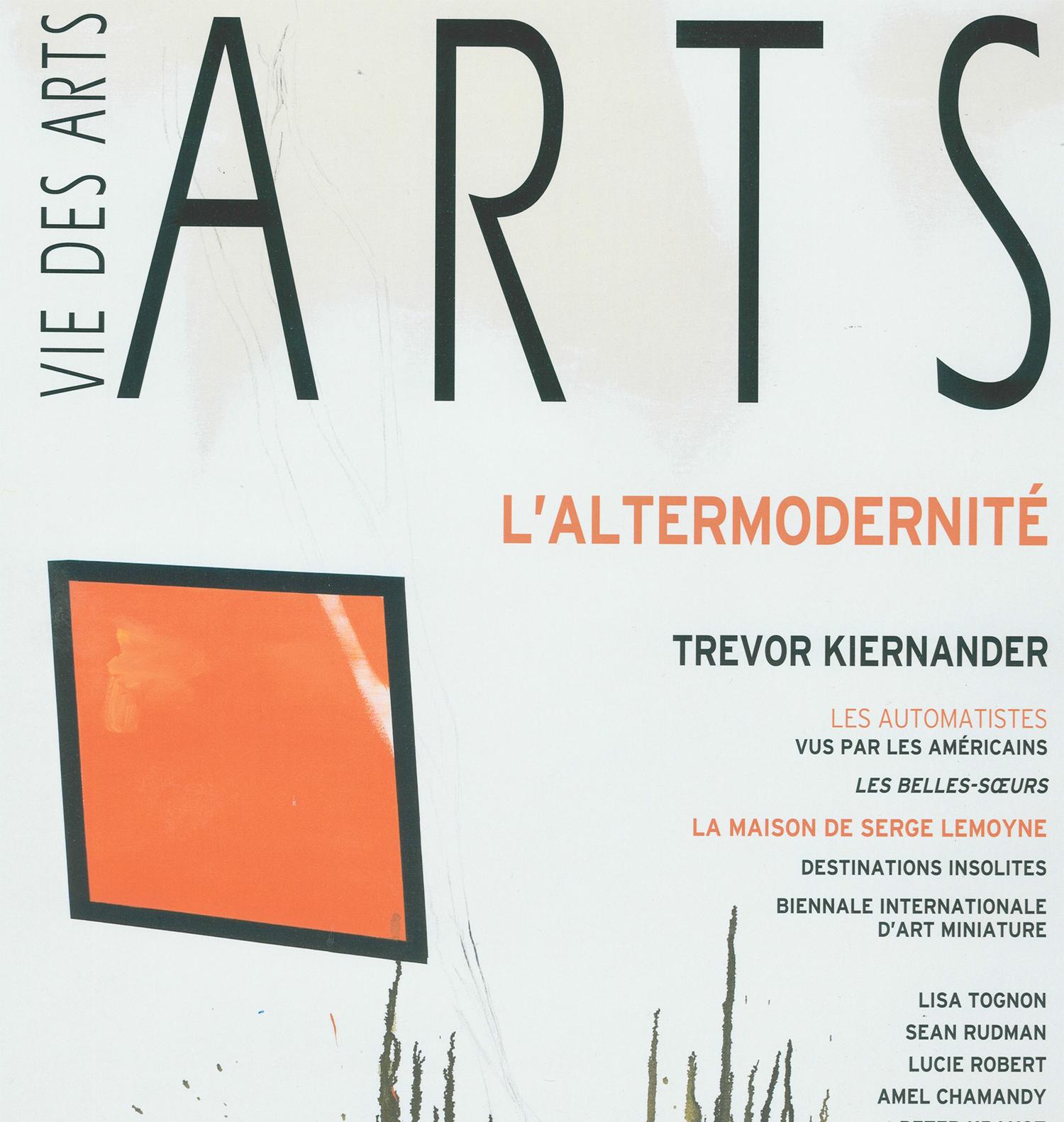 Vie des Arts,  Été 2010