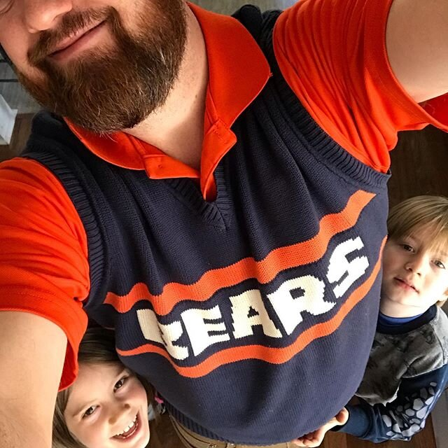 #beardown in my super bowl Sunday best over here. Ok I do have some scrilla on the niners. And heaven help us how hype I'll be if Sherman or Bosa wins the #MVP