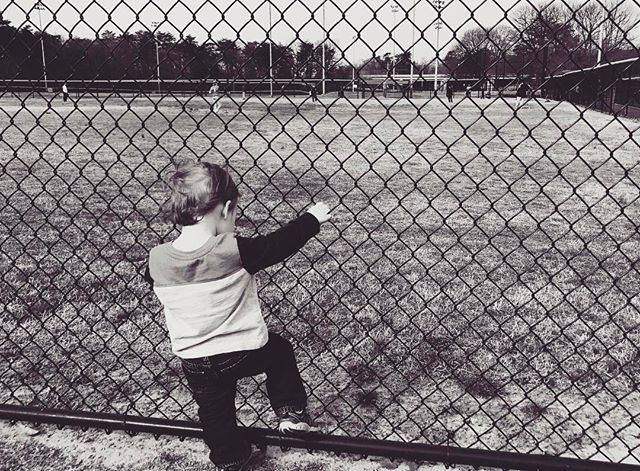 """You could be a kid for as long as you want when you play baseball."" - Cal Ripken Jr. #oneday #baseball #growingup #md #photography #shotoniphone #kidphotography #childphotography"