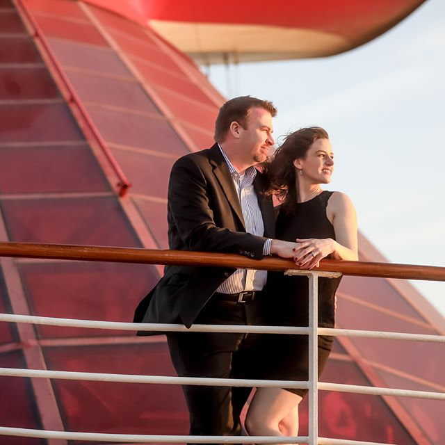 Celebrating our 10th anniversary with a cruise to the #bahamas onboard the @carnival Pride. Made time for a #couples #portrait session provided by #carnivalcruise #dreams_studio. An outstanding job by our photographer, Alexandra. A definite highlight of our week, with amazing images to help us relive this #milestone for years to come.