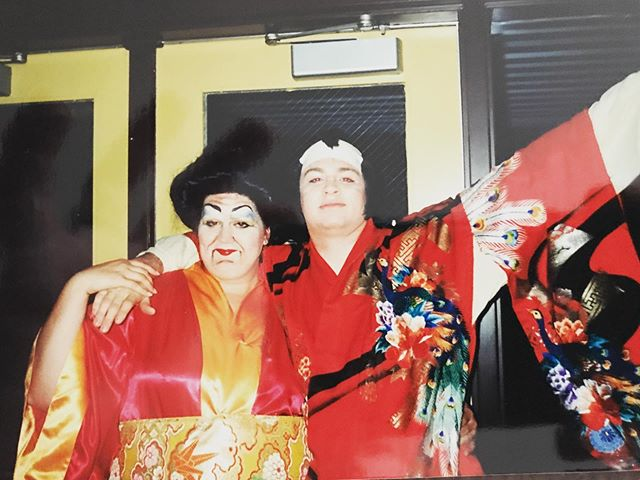 #throwbackthursday to a production of The Mikado during college. Circa 1999. Figured with getting back into music/theater that this might be appreciated. #musicaltheatre