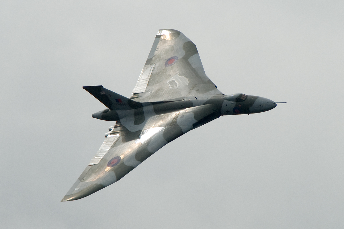 The last of the Vulcan V bombers.