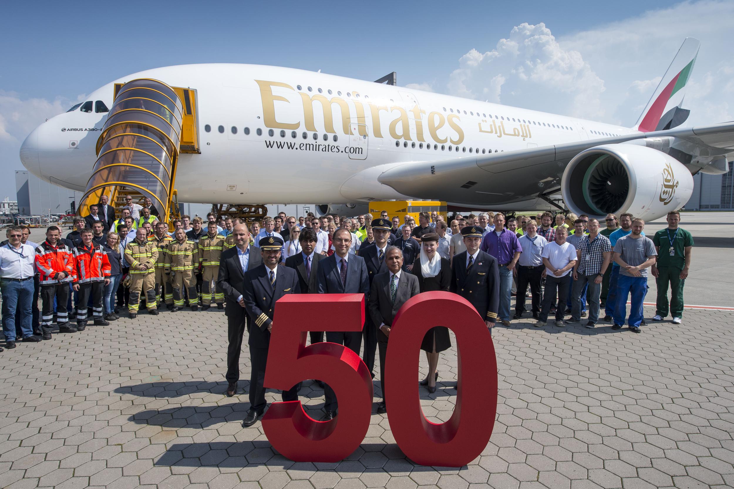 50+ smiles. (image credit: Emirates Group)