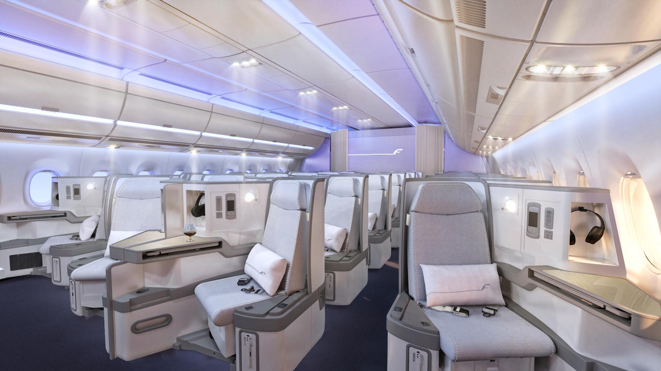 All is quiet in the skies. (image credit: Finnair)