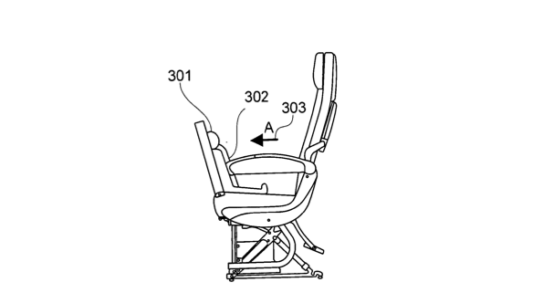 …and creates a secure seat for infants and small kids.