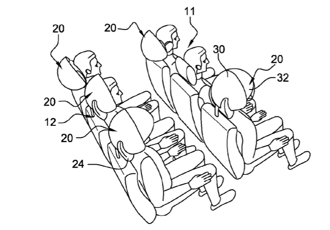 Choose your reality, from the engine noise to a totally immersive experience. (image credit:  patent application )