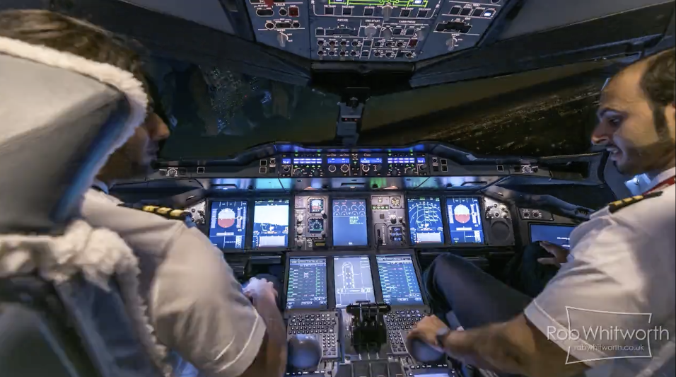 A computer in the air flies into DXB. (image credit: Rob Whitworth, Vimeo)