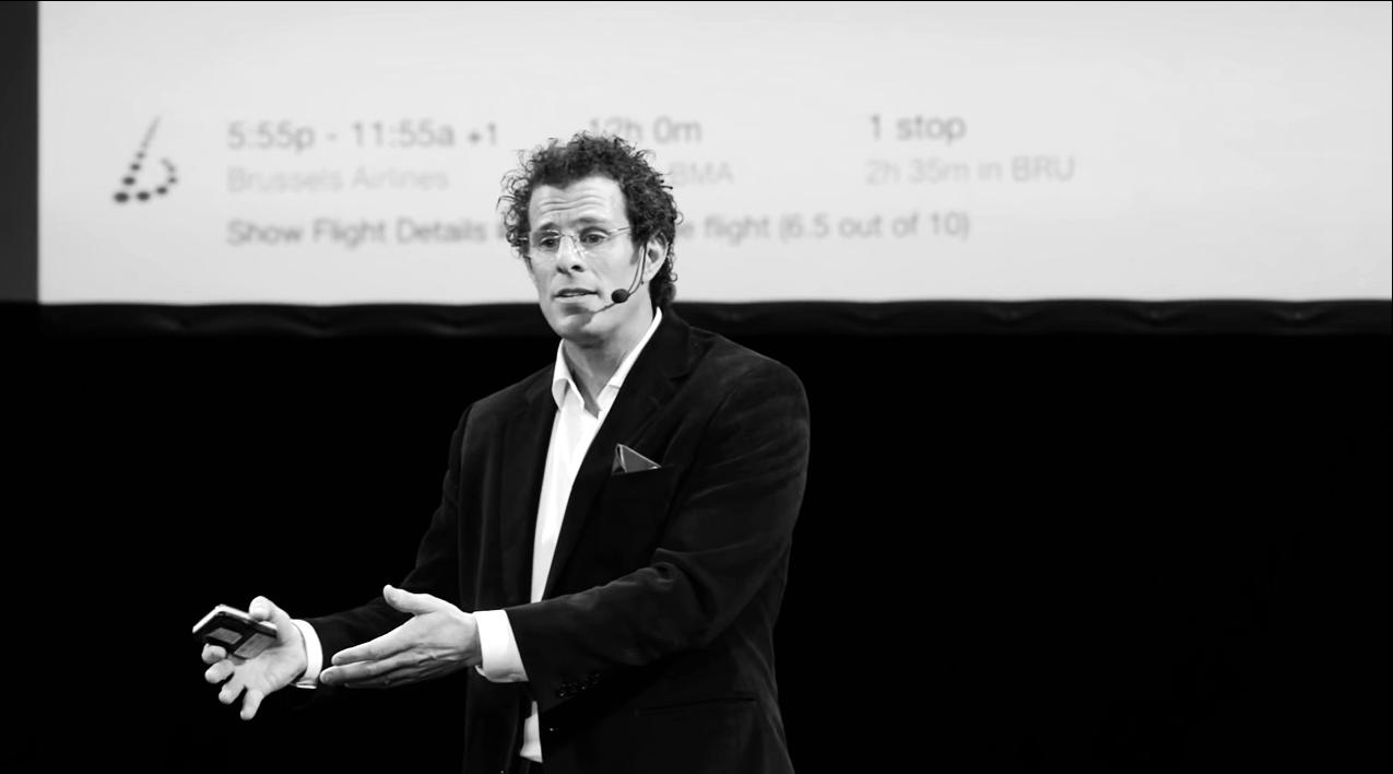 Smart decision based on smart data (image credit: TEDx Stockholm, TEDx Talks)