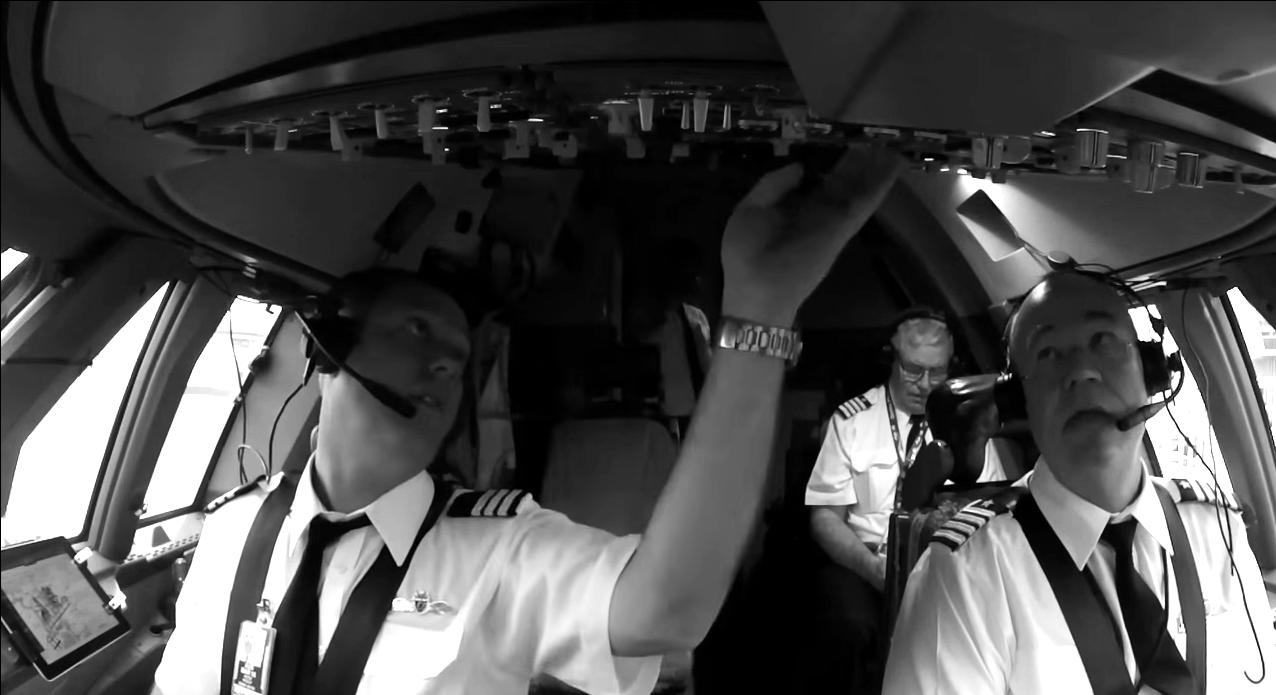 Pilots extraordinaire.