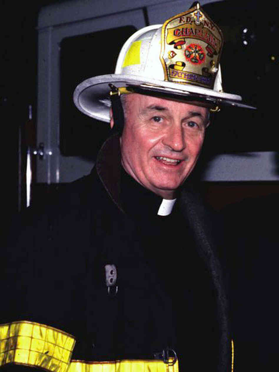 Father Mychal Judge, chaplain with the New York City Fire Department.