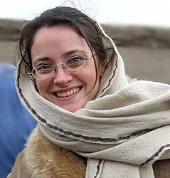 Italian aid worker Clementina Cantoni of the CARE International aid agency, who was abducted in Kabul on May 16, 2005.