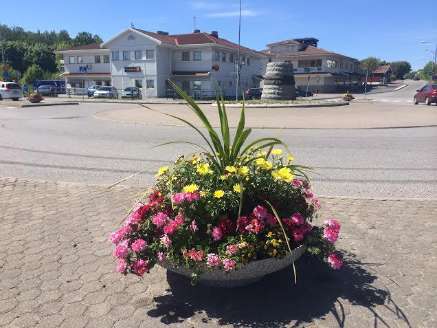 Rondellen, Öckerö Centrum sommaren 2014