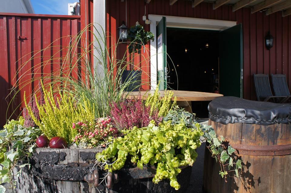 Franses Resturang & Skärgårdspub fick sig en härlig invigningsredo entré hösten 2013 med rödlök, bärljung & tillandsiamossa som huvudingridiens.