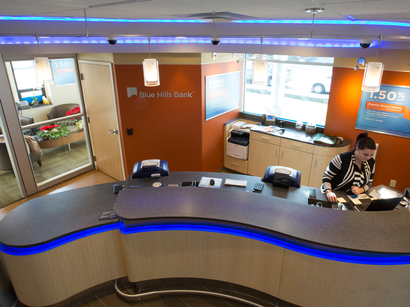 Blue Hills Bank // 1,500 Sq. Ft.  Learn more about this project here .