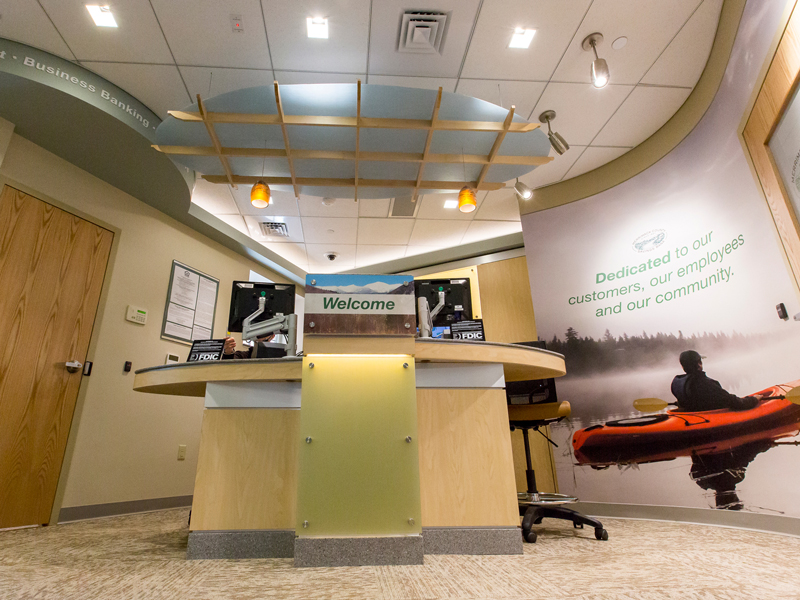 Merrimack County Savings Bank // 900 Sq. Ft.  Read more about this project here .