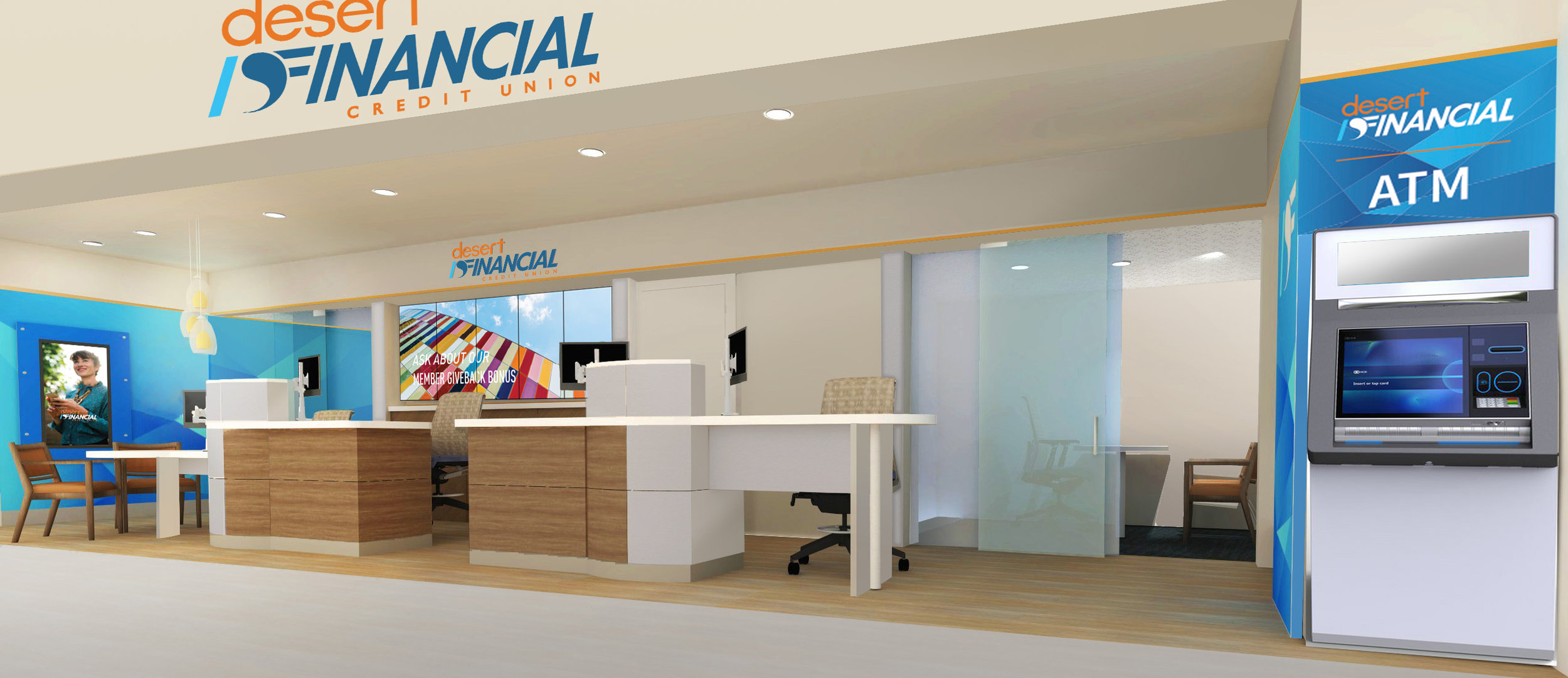 Desert Financial Credit Union Final Rendering by Lily Grace York