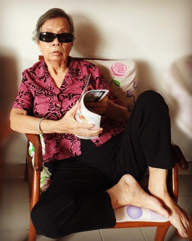 My #badass #grandma.  #myadorableahma #dajieda #cataractsurgery