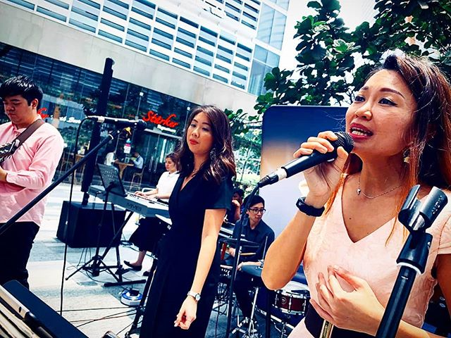 Omg, it's been a month already?? Believer Music Band is performing tomorrow at Tanjong Pagar Centre outdoor area, from 12-1.30pm!  Buy your lunch over as we serenade you with some lovely tunes!  Still getting used to singing in public, but am slightly better with the nerves already! Come support if you're in the area! :) #believermusic #singing #band #forJesus #tanjongpagarcentre #tpc #shannonzann