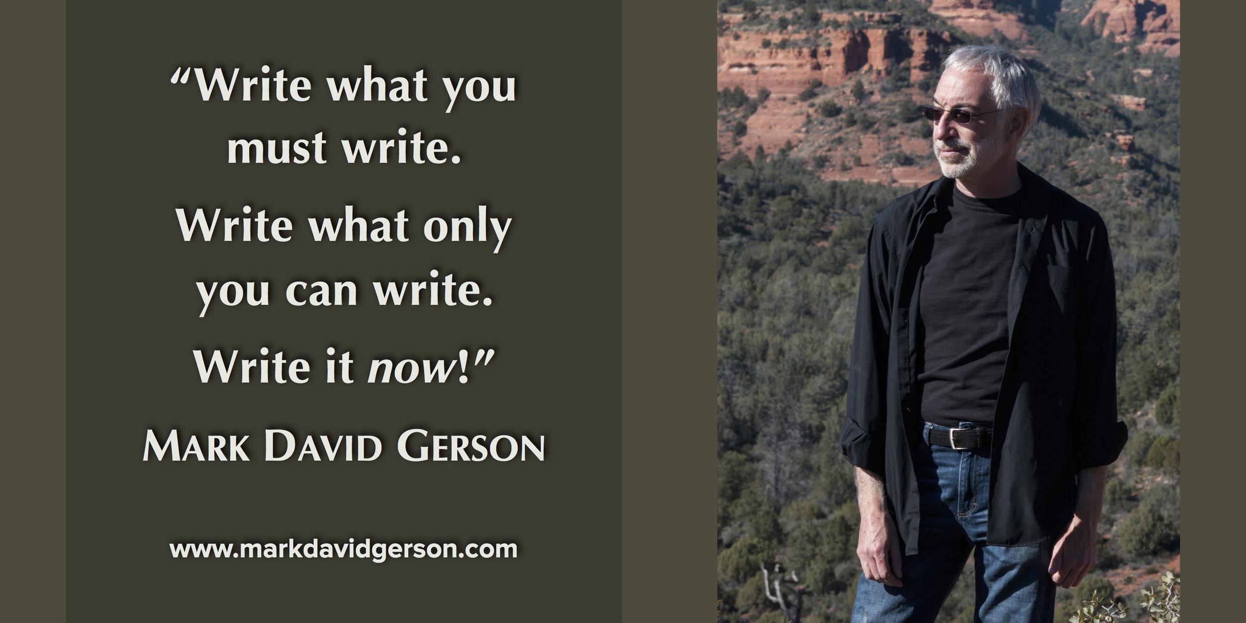 MDG | Write what you must write.jpg