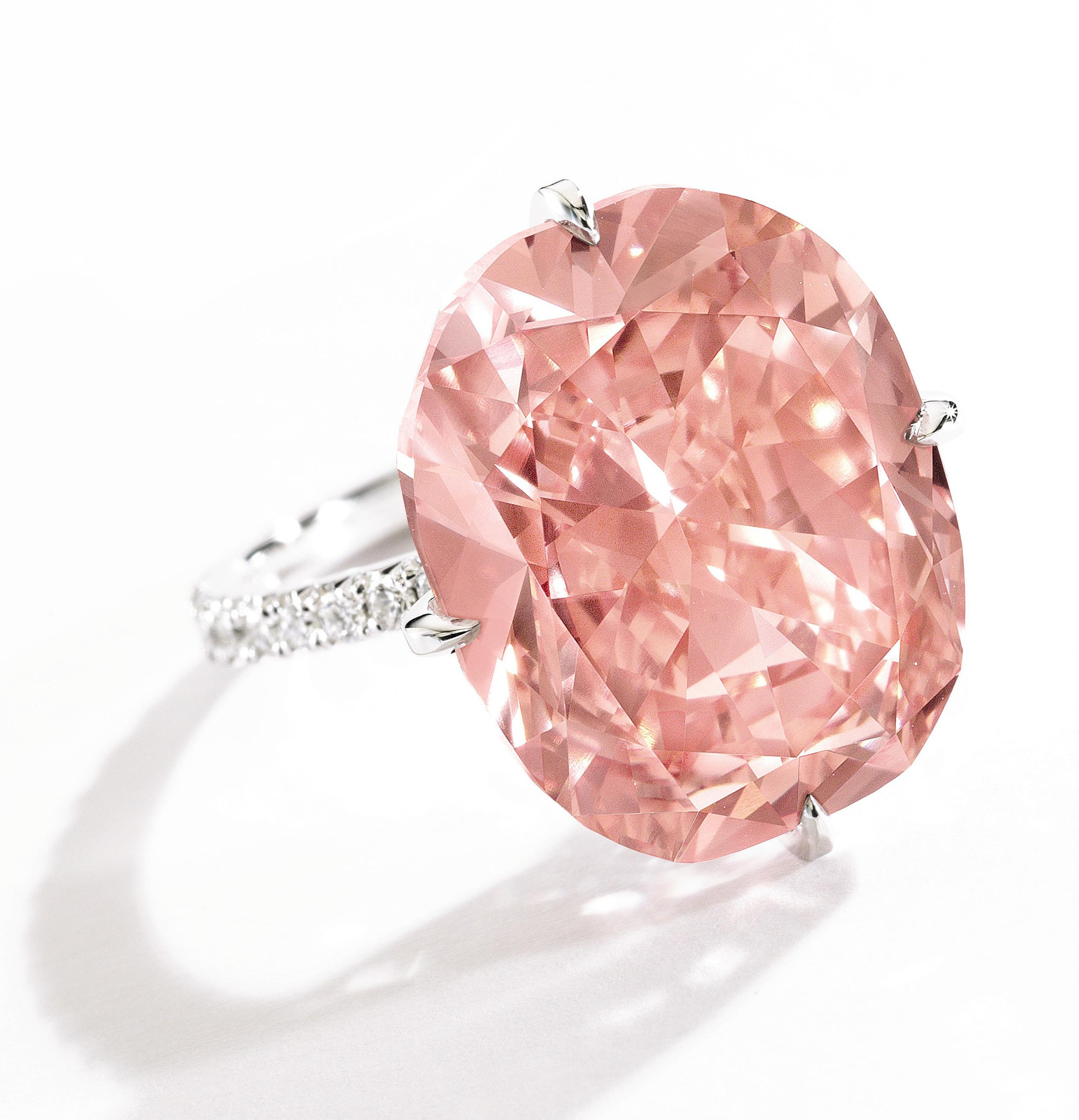 4ct Pink Diamond