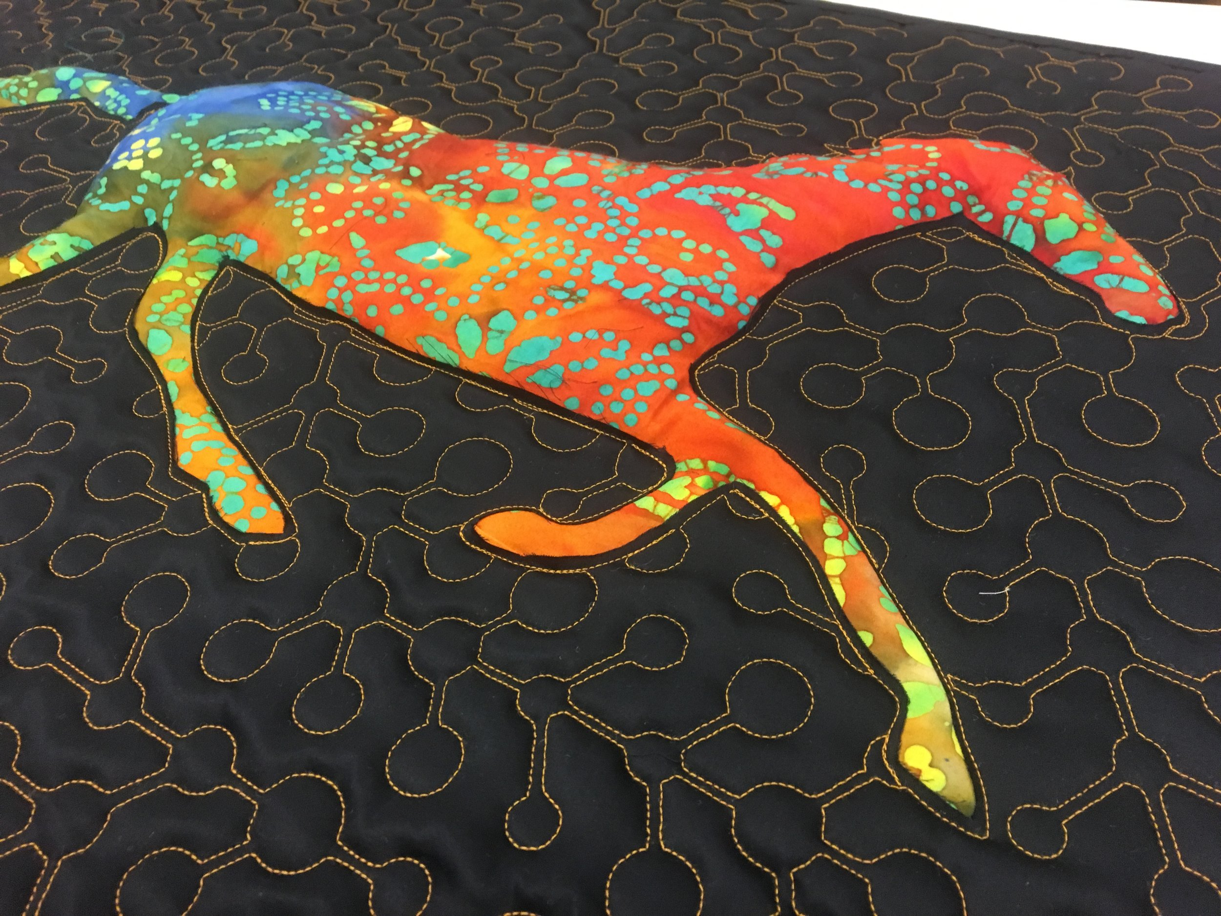 Animated Horse Quilts